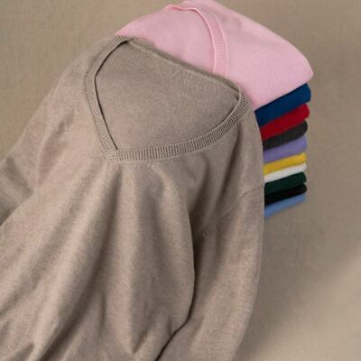 Soft Elastic Knitted Women Sweater Skin Friendly Autumn Cashmere Long Sleeve