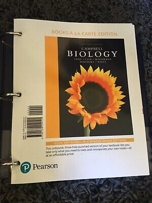 Campbell Biology 11th Edition Loose Sheet
