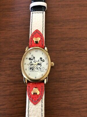 Disney Mickey & Minnie Mouse Timeless Love Watch by The Bradford Exchange