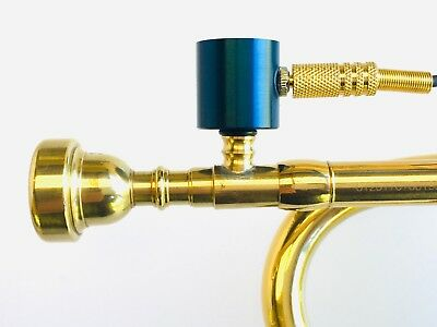 PiezoBarrel P9 Trumpet Pickup Microphone with Bach style 7C Mouthpiece and Cable