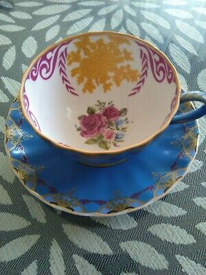 T2 bone china cup and saucer new