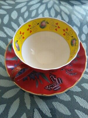 T2 cup and saucer bone china new