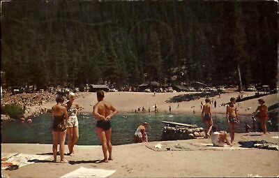 Sequoia National Park California~Lodgepole beach swimming~1956 HARRY MCKINLEY