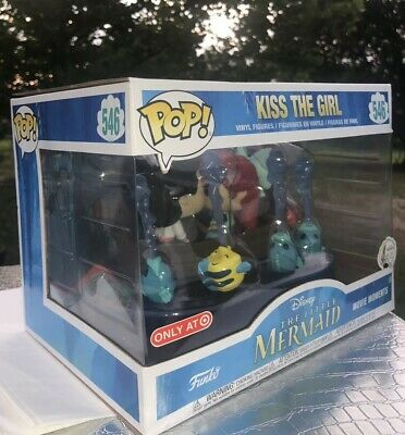 Funko Pop! Little Mermaid Kiss The Girl Movie Moment Target Exclusive in hand