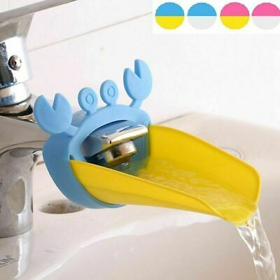 Sweet Faucet Extender For Children Convenience Hand Krabbe-Form Washing G7T3