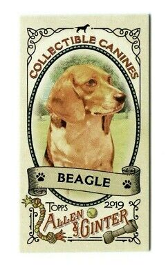 Collectible Canines 2019 Topps Allen & Ginter Mini Insert Set (25 Cards)