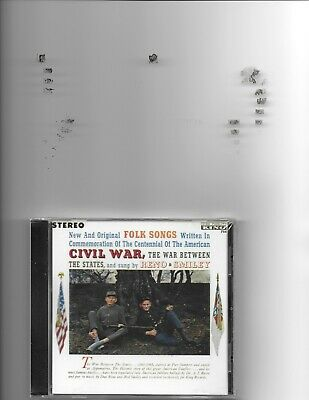 """Don Reno & Red Smiley, Cd, """"Folk Songs Of The Civil War"""" New Sealed"""
