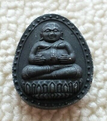 Thai Amulet Buddha Phra Sangkachai Talisman Magic Charm Pendant Money Rich Luck