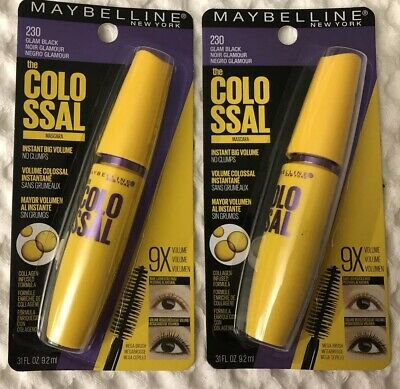 Maybelline Volume Express Mascara The Colossal GLAM Black 230 💫9.2ml