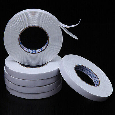 1Roll 3M Double Sided Foam Adhesive Tape Strong Stickiness for Crafting Supplies