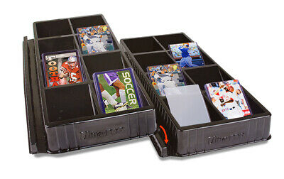 Card Toploader & ONE-TOUCH Sorting Tray 8 Slots Compartments - ULTRA PRO