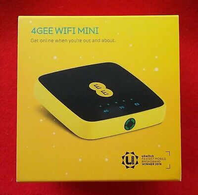 4GEE Wi-Fi Osprey Mini 3 Mobile Broadband Internet Hotspot Network