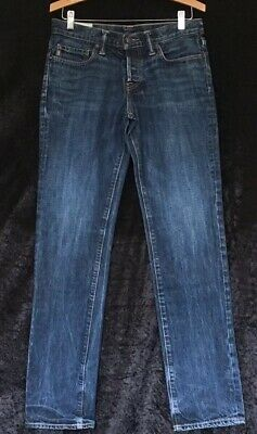 "Mens Boys Blue Jeans By ABERCROMBIE & FITCH denim Size 30"" 32"""