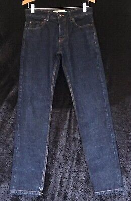 Mens Boys Blue Jeans By NEXT slim Size 28 Regular
