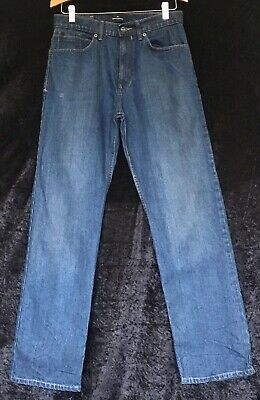 "Mens Boys Blue Jeans By BLUE HARBOUR M&S size 30"" 31"""