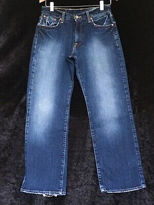 Mens Boys Blue Jeans By LUCKY BRAND short Straight size 29""