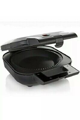 Wolfgang Puck Stainless Steel Black 9 Inch Electric Pie Maker With Pastry Cutter