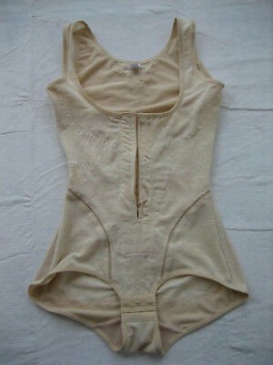 UNIQUE LINGERIE Cream Full Torso Post Surgical Compression Garment - Size S