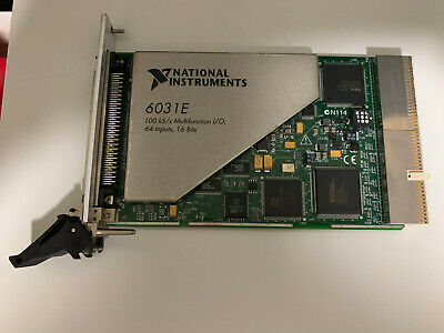 National Instruments PXI-6031E Multifunction I/O Card