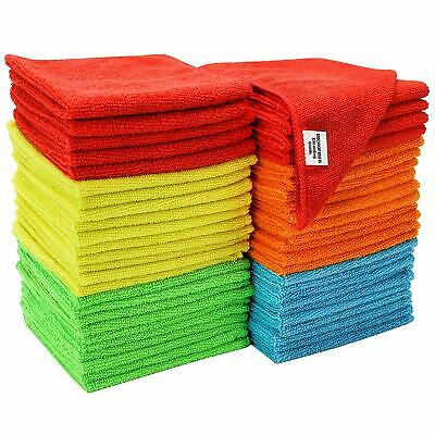 1x 3x 6x Pack Microfibre Face Towels Cloth Flannels Make Up Remover Wash Cloth
