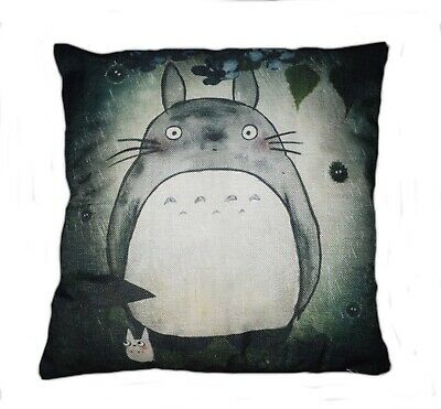 My Neighbour Totoro canvas cushion cover 17x17 inches