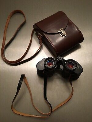 Carl Zeiss Jena Jenoptem 8 X 30W Binoculars Vintage Compact with Carry Case