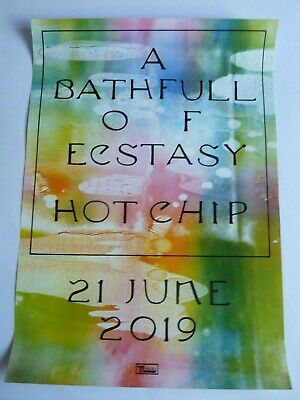Hot Chip A Bathfull Of Ecstasy Original  Promotional Poster New Unused