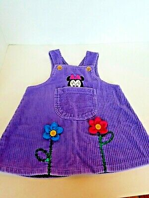 Disney Baby Minnie Mouse Jumper Toddler Girls Size 18 Months Pre owned.