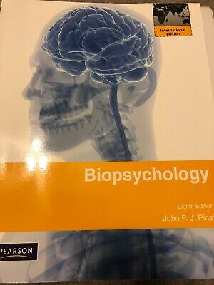Biopsychology: International Edition by Pinel, John P.J. Paperback Book The Fast