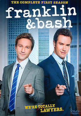 Franklin & Bash: The Complete First Season 1 One (DVD, 2012, 3-Disc Set) - NEW!!