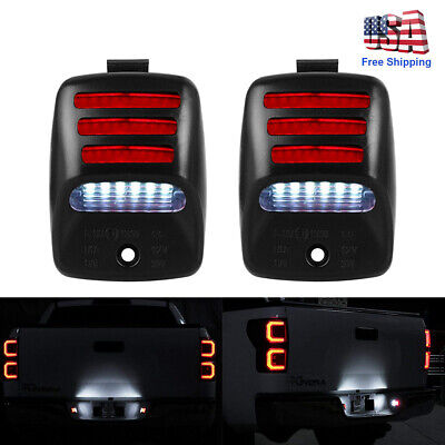 2pc EXCLUSIVE RED OLED TUBE Full LED License Plate Light For 05-15 Tacoma/Tundra
