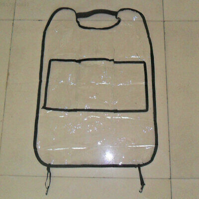 9139 Transparent Kick Mat Cover for Children Bag 1PC Car Seat Protector Cover