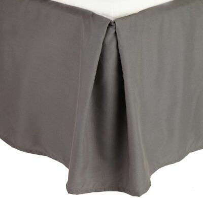 1000 TC Egyptian Cotton Bed Skirt Choose Drop Length Beige Solid /& All US Sizes