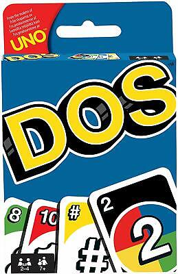 DOS Game From Uno  / Kids Family Card Game - Free Shipping