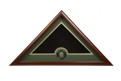 Allied Frame US Army Interment American Burial Flag Display Case with...