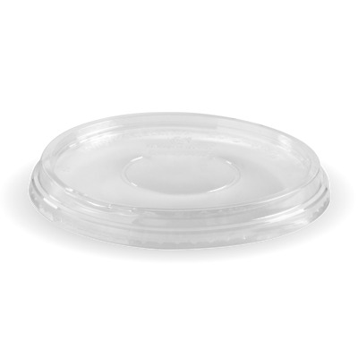 600 x Clear Wide Bowl Lids suits 600ml-700ml Bowls | Non Plastic Biodegradable