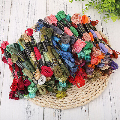5D51 Crafts Decoration Fashion Flower Multi Colors Embroidery Thread Machine