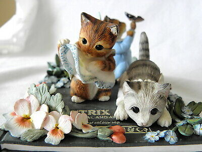 Westminster Editions ~ Beatrix Potter ~ The Tale Of Tom Kitten ~ Tableau ~ Lt Ed