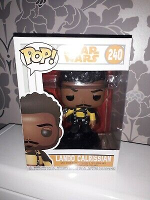 Pop Funko Star Wars Lando Calrissian 240 rare New Figure