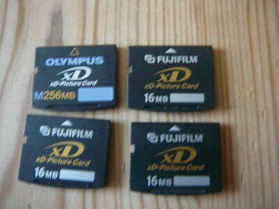 4 X Xd Picture Cards Memory Cards Digital Camera