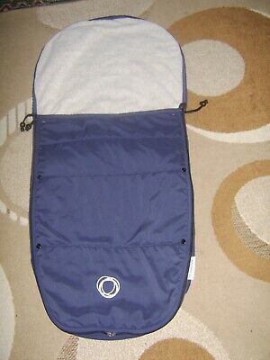 Bugaboo Universal Footmuff /Cosy Toes In Navy Good Condition.