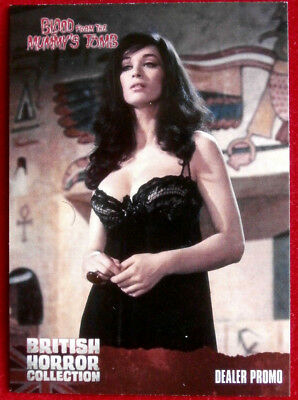 VALERIE LEON - BRITISH HORROR COLLECTION - Promo Card - TCP1 - Unstoppable 2016