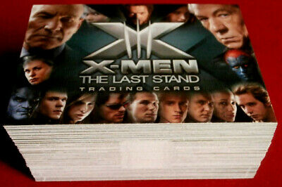 X-MEN 3: THE LAST STAND - Complete Base Set 72 cards - Rittenhouse 2006 - X III