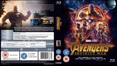 marvel avengers infinity war blu ray Opened But Never Played Grab A Bargain