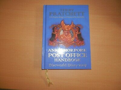 Terry Pratchett Ankh Morpork Post Office Handbook Discworld Diary 2007 1st editi