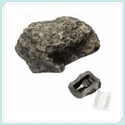 Key Hide Box Safe Holder Rock Hider Outdoor Secret Storage Case For Keys Home
