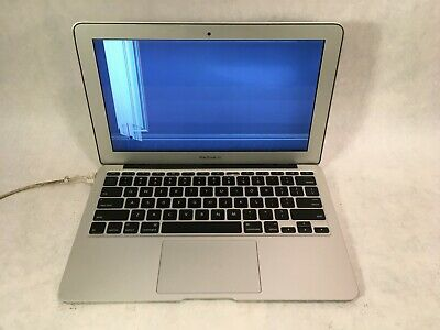 "Apple MacBook Air A1370 2011 11.6"" Intel Core i5 1.6GHz 2GB RAM -CRACKED -RR"