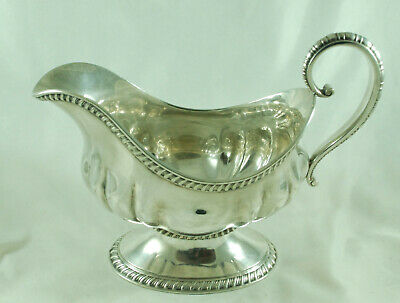 American Tiffany & Co Silver Plated Sauce Boat HEZX