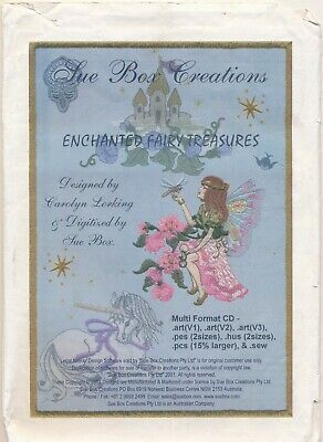 "Sue Box Creations ""Enchanted Fairy Treasures"" Design CD"