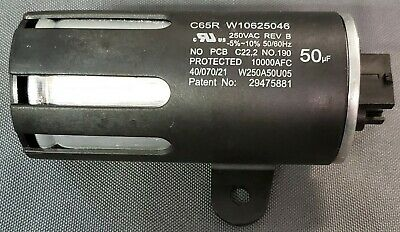 Whirlpool Washer Capacitor Pt. # W10625046 (R3S3)